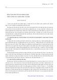 Đào tạo chuyên gia khoa học trên lĩnh vực khoa học xã hội - Đặng Thanh Lê