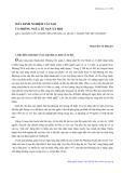 Mấy kinh nghiệm cải tạo và phòng ngừa tệ nạn xã hội: Qua nghiên cứu thanh niên phường 20, quận 1, thành phố Hồ Chí Minh - Nguyễn Vi Nhuận