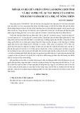 Mối quan hệ giữa phân công lao động giới tính và địa vị phụ nữ, sự tác động của chúng tới hành vi sinh đẻ của phụ nữ nông thôn - Nguyễn Thị Hoa
