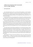 Chính sách xã hội đối với nữ thanh niên tại các nông trường - Trần Kim Xuyến