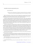 Góp phần tìm hiểu khái niệm phân tầng xã hội - Nguyễn Đình Tuấn
