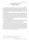 Một vài khía cạnh văn hóa, xã hội của nông thôn qua kết quả nghiên cứu xã hội học - Chung Á