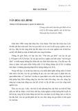 Văn hóa gia đình: Những vấn đề phương pháp và nguyên tắc nghiên cứu - Trần Kim Xuyến