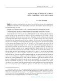 Cơ cấu xã hội, sự phân tầng xã hội và chính sách xã hội ở nông thôn Nam Bộ - Nguyễn Công Bình