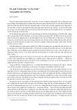Suy nghĩ về khái niệm cơ cấu xã hội trong nghiên cứu xã hội học - Ngô Thành