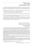 Dân số, gia đình và sự biến đổi kinh tế xã hội: Quan niệm của người nông dân về giá trị đứa con với cuộc vận động kế hoạch hóa gia đình - Trịnh Hòa Bình