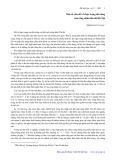 Một số vấn đề về thực trạng đời sống của công nhân thủ đô Hà Nội - Trịnh Duy Luận