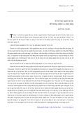 Xã hội học người tàn tật: Đối tượng, nhiệm vụ, chức năng - Hồ Tùng Thanh
