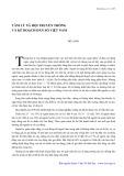 Tâm lý xã hội truyền thống và kế hoạch dân số ngày nay - Đỗ Long
