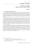 Xã hội học và đời sống: Vai trò của lao động trong lối sống xã hội chủ nghĩa - Chu Khắc
