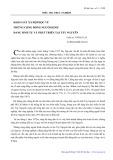 Điều tra thực nghiệm: Khảo sát xã hội học về những cộng đồng người Kinh sinh tụ và phát triển tại Tây Nguyên