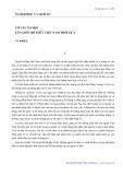 Cơ cấu xã hội và sứ mệnh lịch sử của người trí thức Việt Nam hiện nay - Vũ Khiêu