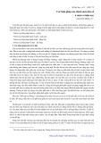 Các biện pháp của chính sách dân số ở nước ta hiện nay - Nguyễn Đình Cử