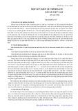 Một số ý kiến về chính sách dân số Việt Nam đến năm 2000 - Phạm Bích San