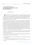 Về sự chuyển đổi thức bậc ưu tiên của định hướng giá trị kinh tế ở một số xã vùng đồng bằng Bắc Bộ hiện nay - Nguyễn Phan Lâm