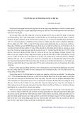 Vấn đề đào tạo và bồi dưỡng cán bộ xã hội học - Nguyễn An Lịch