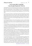 Thông tin xã hội học: Vai trò của gia đình và cộng đồng trong việc giúp đỡ người già ở Thái Lan - Lưu Đình Nhân