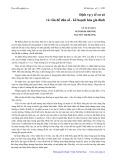 Dịch vụ y tế cơ sở và vấn đề dân số, kế hoạch hóa gia đình - Vũ Tuấn Huy