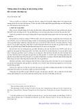 Những nhân tố tác động từ môi trường xã hội đối với sinh viên hiện nay - Nguyễn Ngọc Trí