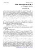 Phương pháp thu nhập thông tin dân số và kế hoạch hóa gia đình - Nguyễn Quốc Anh