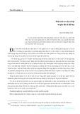 Phân tích cơ cấu xã hội từ giác độ xã hội học - Nguyễn Đình Tấn