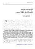 Tìm hiểu Nghị quyết 8 về giá, lương, tiền với các chính sách dân số - Nguyễn Minh Thắng