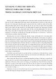 Xây dựng và phát huy hơn nữa tiềm lực khoa học xã hội trong giai đoạn cách mạng hiện nay - Phạm Xuân Nam