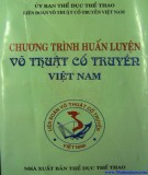 Kế hoạch chương trình huấn luyện võ thuật cổ truyền Việt Nam: Phần 2