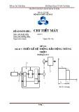 Đề tài số 7: Thiết kế hệ thống dẫn động thùng trộn