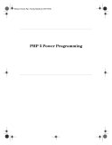 Ebook PHP 5 Power Programming