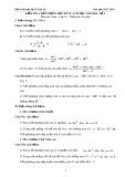 Bộ đề kiểm tra chất lượng học kỳ II năm học 2015-2016 môn Toán lớp 10