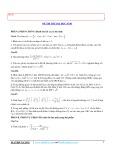Bộ đề  thi thử Đại học môn Toán (25tr)