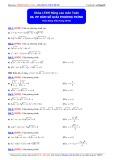 Luyện thi Đại học nâng cao môn Toán: Phương pháp hàm số giải phương trình