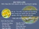 Bài thảo luận môn Đạo đức kinh doanh và văn hóa doanh nghiệp: Tìm hiểu và phân tích hệ thống biểu trưng trực quan của các doanh nghiệp Việt Nam và trên thế giới