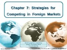Lecture Crafting and executing strategy (17/e): Chapter 7 - Arthur A. Thompson, A. J. Strickland III, John E. Gamble