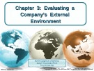 Lecture Crafting and executing strategy (17/e): Chapter 3 - Arthur A. Thompson, A. J. Strickland III, John E. Gamble