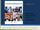 Lecture Operations management: Chapter 11 - William J. Stevenson