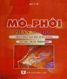 Ebook Mô - Phôi (Phần Mô học): Phần 1
