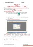 Bài giảng Hướng dẫn căn bản Autocad 2D - 2007