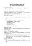 Bài giảng Ép cọc bê tông cốt thép chế tạo sẵn tiêu chuẩn thi công và nghiệm thu