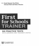 First for schools trainer - Six practice tests with answers and teacher's notes: Part 1