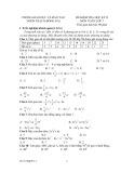 Đề kiểm tra học kỳ II môn Toán lớp 7 - Nhơn Trạch - Đồng Nai
