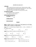 Đề kiểm tra học kỳ I môn Toán lớp 7 (104tr)