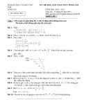 Bộ đề thi HSG giải toán máy tính cầm tay khối lớp 7