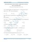 Bài thi thử đánh giá năng lực chung phần: Tư duy định lượng - Đại học Quốc gia Hà Nội