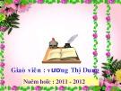 Bài giảng Lịch sử lớp 5: Bến Tre Đồng Khởi