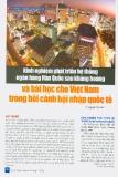Kinh nghiệm phát triển hệ thống ngân hàng Hàn Quốc sau khủng hoảng và bài học cho Việt Nam trong bối cảnh hội nhập quốc tế