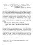 So sánh phương pháp ABC và phương pháp tính giá truyền thống – Sự cần thiết áp dụng phương pháp ABC cho các doanh nghiệp Việt Nam
