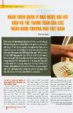 Hoàn thiện quản lý nhà nước đối với các dịch vụ thẻ thanh toán của các Ngân hàng Thương mại Việt Nam