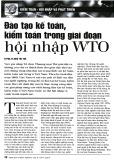 Đào tạo kế toán, kiểm toán trong giai đoạn hội nhập WTO